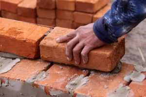 man laying down brick (2)